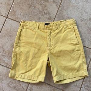 J. Crew Men's Stanton Cotton Chino Shorts